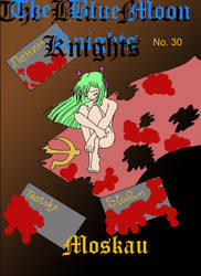The Blue Moon Knights - Cover no. 30 by SakuraHayesStudios