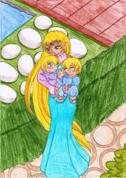 The Blue Moon Knights - Sweet Childhood by SakuraHayesStudios