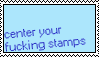 center your stamps by jokestm