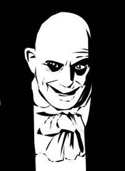 Uncle Fester - Banksy Style by PINKTHONG