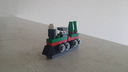 December builds #16: Christmas train by tito00185719