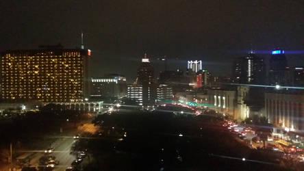 Downtown San Antonio night time by tito00185719