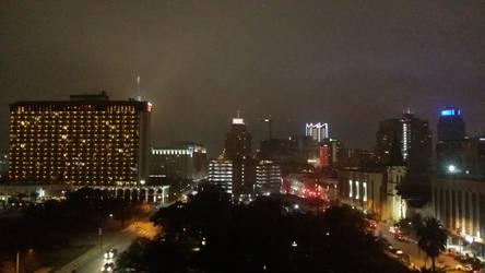Downtown San Antonio night time 2 by tito00185719