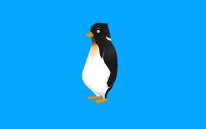 Tux Penguin 2 by DeadLetterDesign