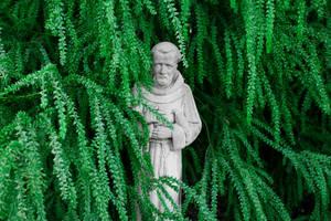 Monk Statue by DeadLetterDesign