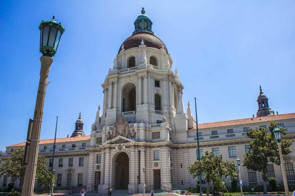 Pasadena City Hall by DeadLetterDesign