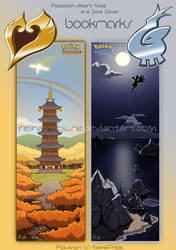 Pokemon HG SS Bookmarks by Reina-Kitsune