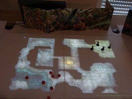 Tabletop Projector Table - detail by zen79