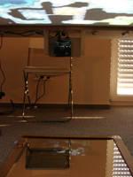 Tabletop Projector Table - underside by zen79