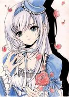 A gothic Lolita by Sorka-of-Eawy