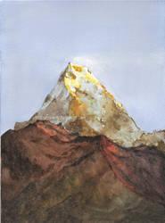 Annapurna South by Sorka-of-Eawy