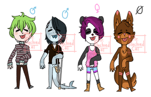 Rainbow Adopts! ( CLOSED ) by Tesspy