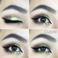 Spring green prom makeup  by Ciyradyl