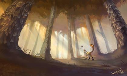 Lush Forest by SmirkCatsTales