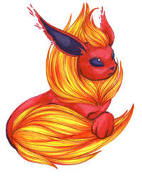 Finally Flareon by Sarelm
