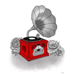 Gramophone by lauramarcuet