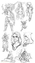 Dark Souls Sketches by the-Orator