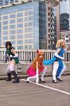 Adult Powerpuff Girls Cosplay by Nostalchicks by MEW21