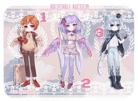 ADOPT AUCTION: OPEN (1/3) by REYAchan