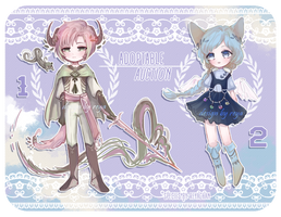 ADOPT AUCTION: OPEN (1/2) by REYAchan