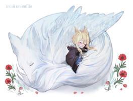 Peaceful sleep by REYAchan
