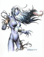 Lady Venom by LostEmerald
