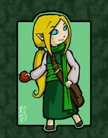 Zelda OC: Nane by dalmuln