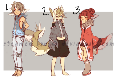 Attic Adopts: Batch 1 (ENDED) by waxsnake