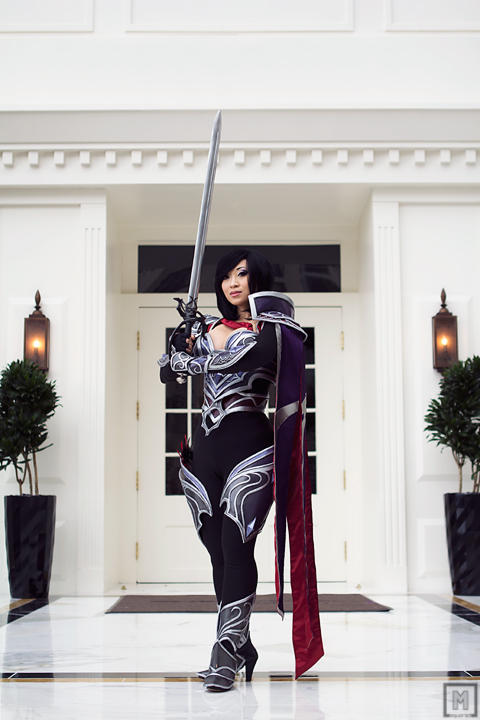 Nightraven Fiora   League of Legends by m-squaredphotography