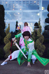 Sakura and Syaoran   Tsubasa Reservoir Chronicles by m-squaredphotography