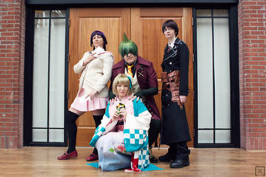 Blue Exorcist Group by m-squaredphotography