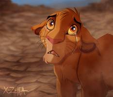 Mufasa's Death by X-ZELFA