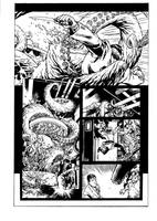 Agents of Atlas page 6 inked by raMbo1911