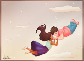 Steven and Connie - Spirited Away by NvgOtoha