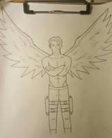 Isiah Stratus: No Angel by Obiosborn