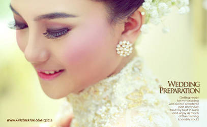 Beauty Bride - Wedding at Malang, Indonesia by antzcreator