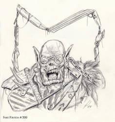 Mad Ork by randolfo