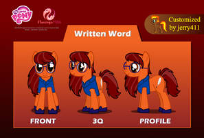 Written Word [Flash puppet] by jerry411