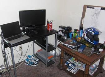 my office by WildWanderer