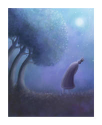 The King and The Trees by pesare