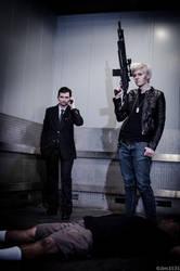 BBC Sherlock: Modern Mafia by zhellyzee