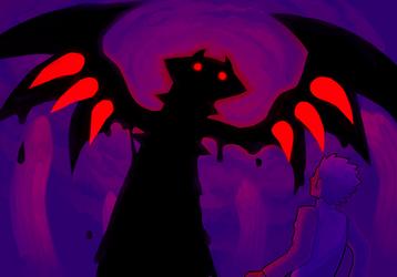 shadowy pokemon by sorrysap