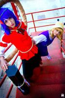 Moriya Megamis - Kanako and Suwako by Whitaco-s
