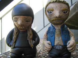 Skinner and His Friend Hal by jay222toys