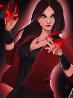 Scarlet Witch by Lushies-Art