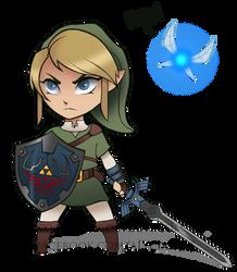 Link Chibi by Lushies-Art