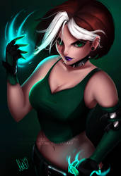 Rogue by Lushies-Art