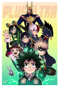 My Hero Academia by Lushies-Art