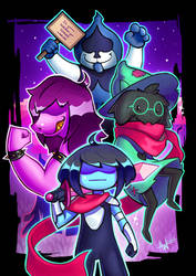 Deltarune by Lushies-Art
