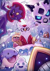 Brrr! | Ice Pokemon by Lushies-Art